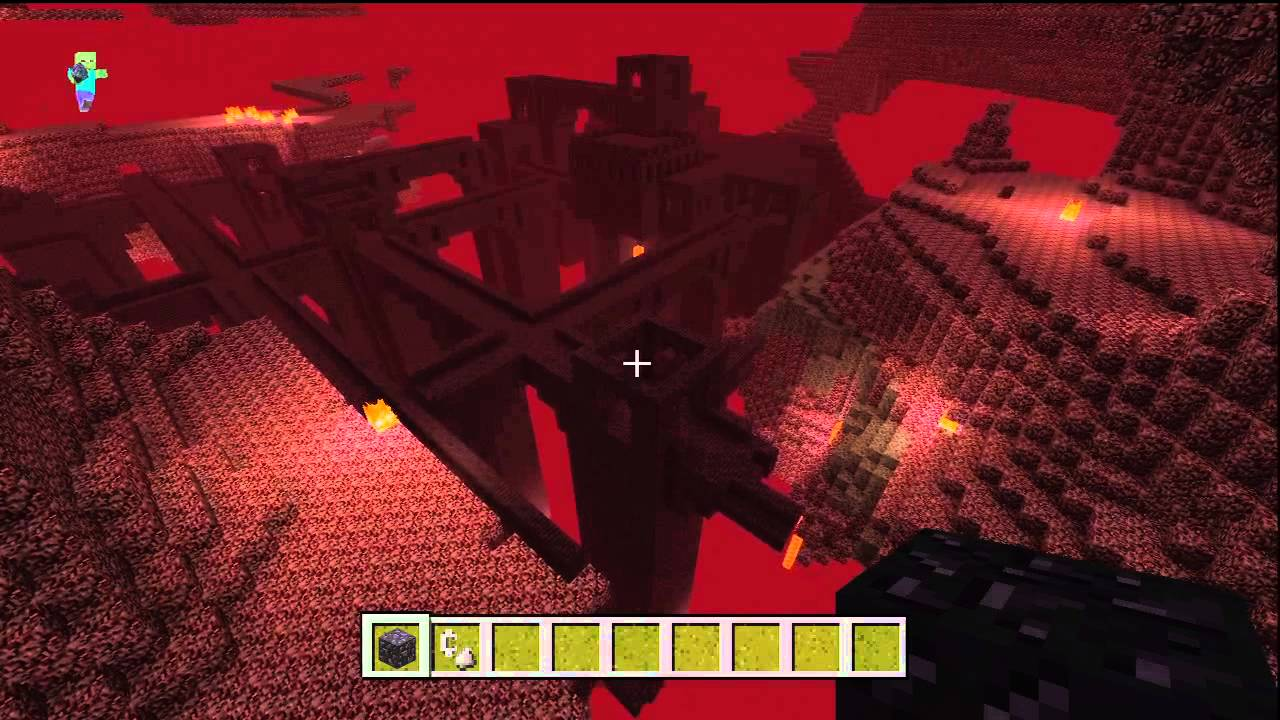 Minecraft Xbox Best Seed Ever - Nether Fortress! - YouTube