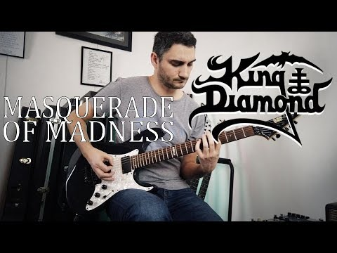 King Diamond 'Masquerade Of Madness' GUITAR COVER (NEW SONG 2019)