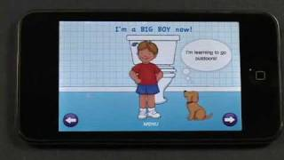 I Love Potty Training iPhone App - Live Demo