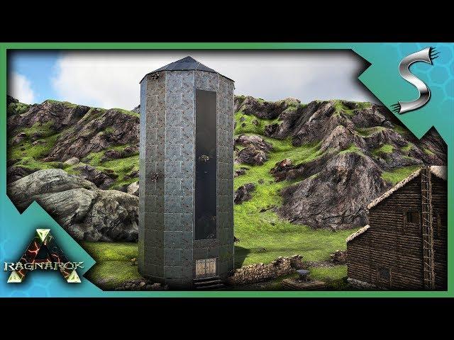 THE PHIOMIA POOP SILO! ITS RAINING POOP! - Ark: RAGNAROK