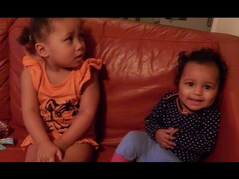 Trix and Lynn Singing Ghana children Game Songs | Ghana Child's Play