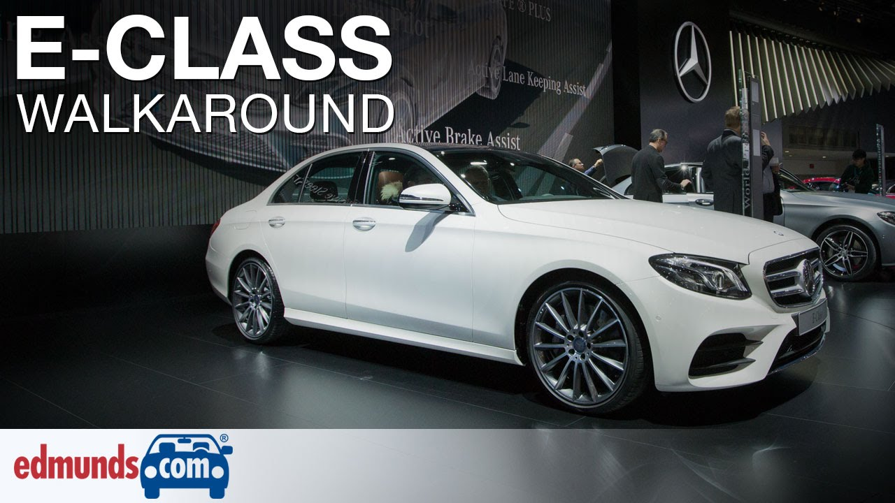 Awesome 2017 MercedesBenz EClass Walkaround Review  Detroit