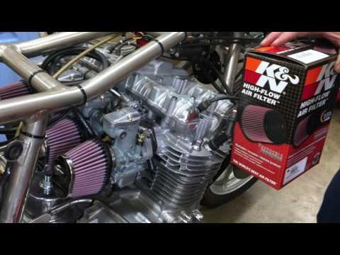 K&N Air Filters Rickman Z1 Project 6-28
