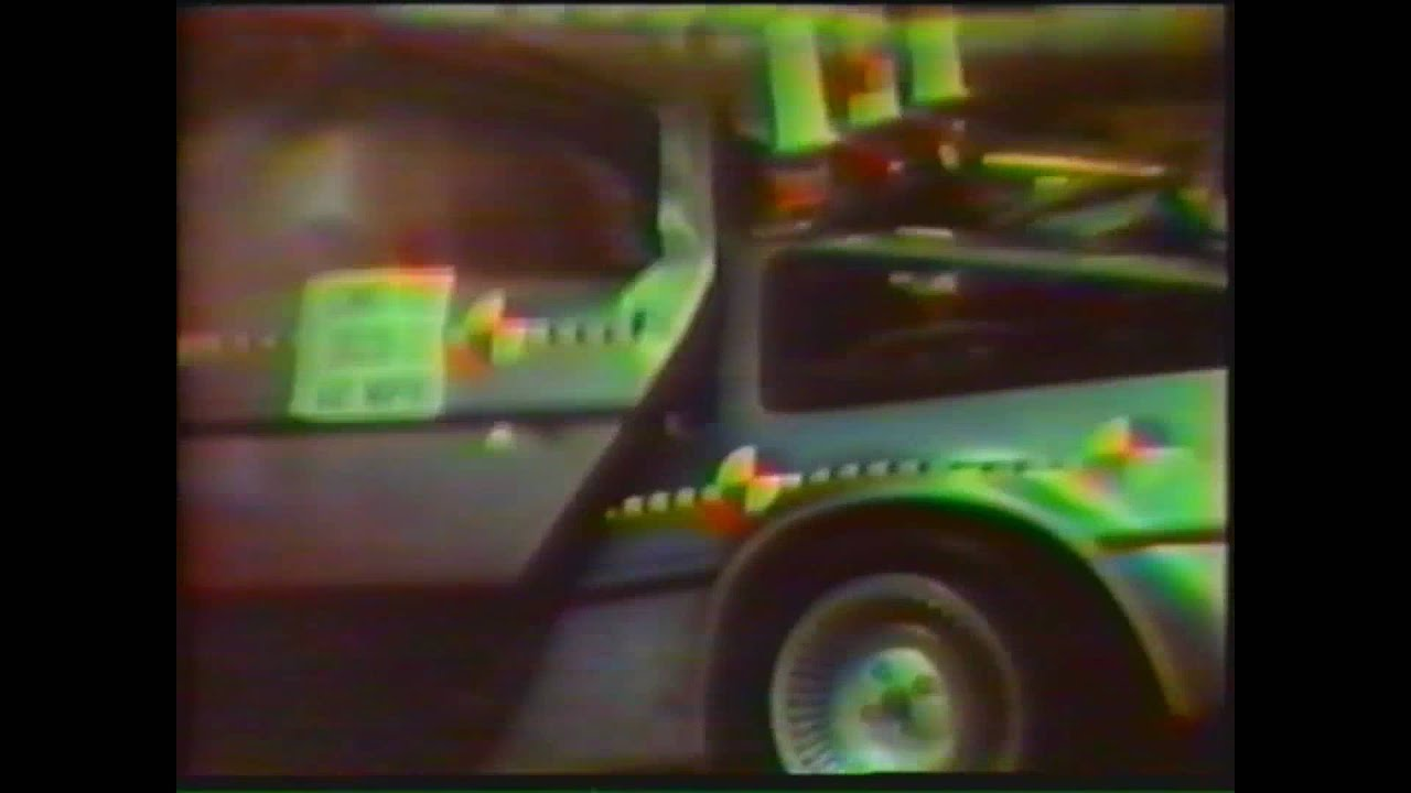 Rare 1980 Delorean Crash Test Video Uncut Version Youtube