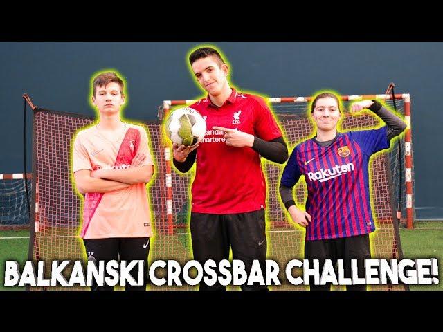 BALKANSKI CROSSBAR CHALLENGE! w/Ivana & Matija