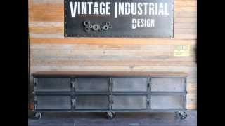 The Vintage Industrial Furniture Collection 2013