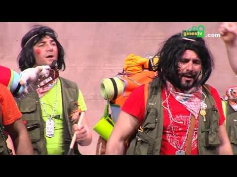 Los supervivientes de la calle San Vicente. Carnaval de Gines 2016 (Gran Final)