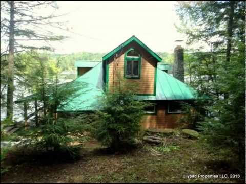 Lilypad Properties: The Sieber House on Lake Rescue in Ludlow, VT