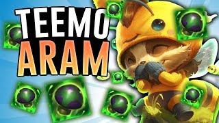 TEEMO IN ARAM HAS SHROOMS EVERYWHERE! - Teemo ARAM - League Of Legends