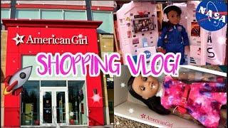 💕 SHOPPING VLOG BUYING NEW AMERICAN GIRL DOLL! 🚀 LUCIANA VEGA
