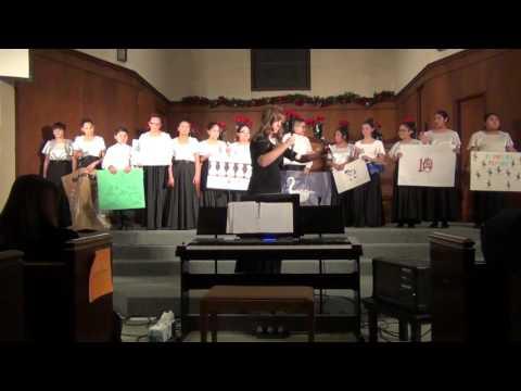 Part 1  Woodlake High School  Woodlake Valley MIddle School Winter Choir Concert 2015 002