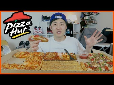 Pizza Hut Big Dinner Box(with meaty marinara pasta) Mukbang | Dongdigity thumbnail