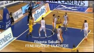 Blagota Sekulic Fenerbahçe Ülker'de|Fenerbahçe Ülker'in Yeni Transferi B.Sekulic