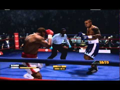 How to Defeat Isaac Frost with Andre Bishop Fight Night Champion Format PS3