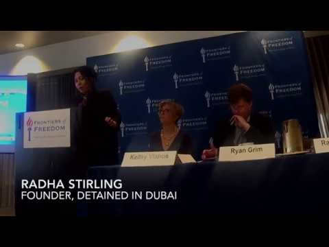 Radha Stirling at Frontiers of Freedom's Saudi Arabia and UAE Conference