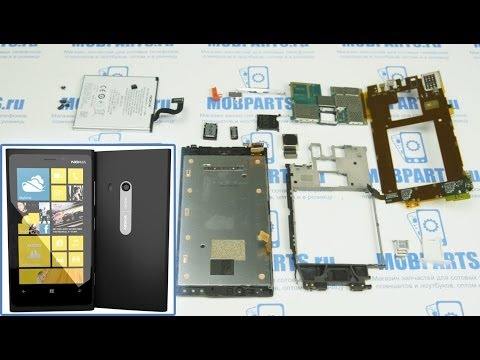 Nokia Lumia 920 как разобрать, ремонт и сборка