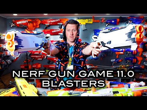 The Blasters For NERF GUN GAME 11.0!