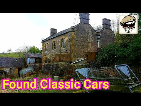 Abandoned VICTORIAN FARM with LAND ROVERS - Time Capsule - Exploring Places UK