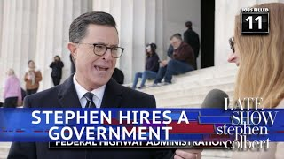 Stephen Colbert Fills Every Vacant Federal Government Job thumbnail
