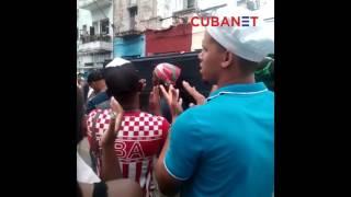 Entierro de joven apuñalado en Centro Habana, Cuba