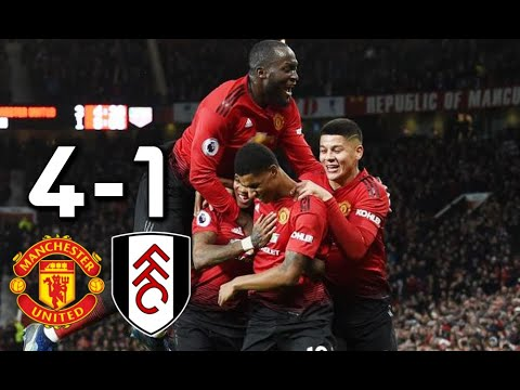 Highligts Manchester United vs Fulham 4-1 All Goals 2018 Mp3