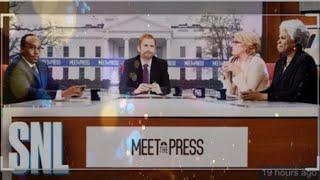 MEET THE PRESS COLD OPEN SNL (REACTION VIDEO)