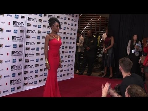 Stars attend 2014 MTV African Music Awards