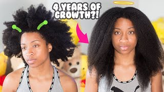 How To Retain Length For Type 4 Natural Hair Growth! thumbnail