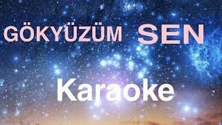 Gökyüzüm sen Gökşin Derin Karaoke (music time) Resimi