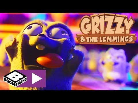 Grizzy i lemingi | Czas na imprezę | Boomerang