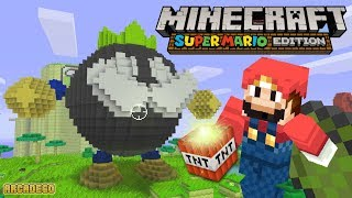 Minecraft Super Mario World - Part 101 Mario Destroy Princess Peach & Yoshi (Minecraft Super Mario)