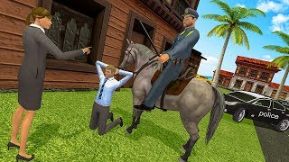 Police Horse Grand Crime City Gangster Mafia Chase (by Last Round) Android Gameplay [HD]