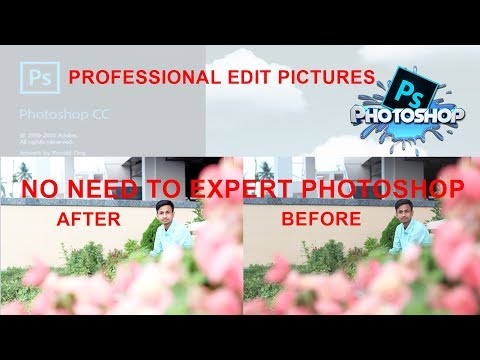 How To Edit Pictures Professional In Photoshop|No Need To Expert Photoshop|Tech Travels.