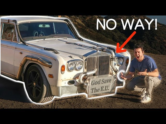 I DROVE THE WORLDS CRAZIEST ROLLS ROYCE! **INSANE**
