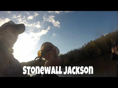 Fall Bass Fishing On Stonewall Jackson