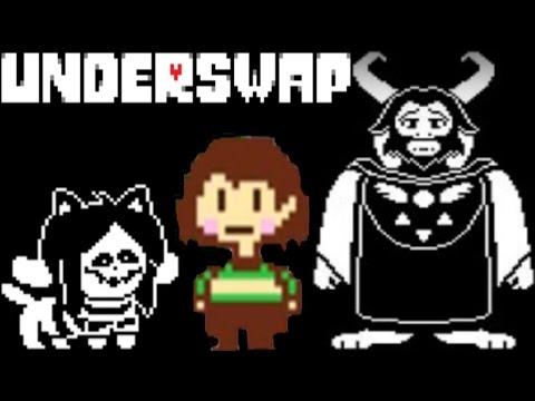 Underswap - Undertale наоборот