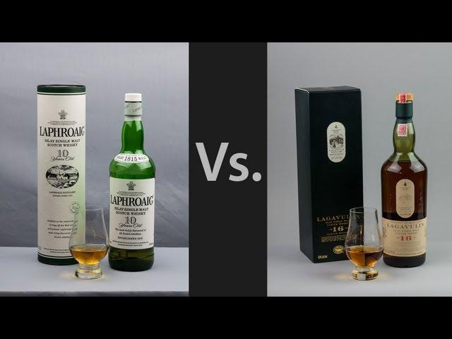 Whisky Video #8: Lagavulin 16 Vs Laphroaig 10