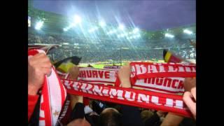 Fc Bayern München neuster Fangesang -Wir sind immer dabei,im Gästestehblock 26.10.2014 Borussia Park
