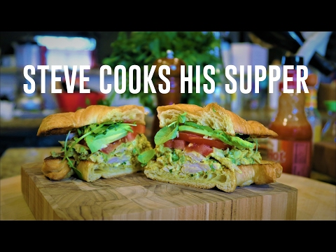 CURRIED CHICKEN SALAD SANDWICH | Steve's Suppers