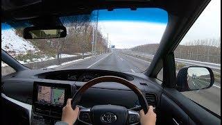 【試乗動画】2018 トヨタ エスティマ ハイブリッド AERAS PREMIUM-G 4WD 市街地/高速試乗