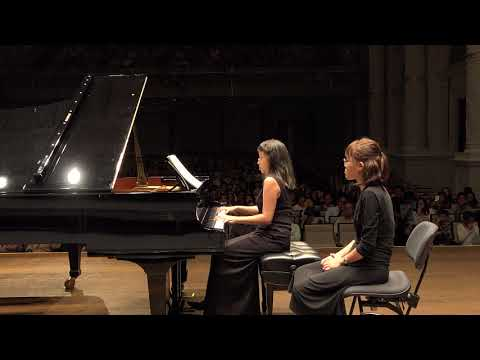 Lim Jing Jing \u0026 Pan Chun - Brahms: Variations on a theme by Haydn for two pianos