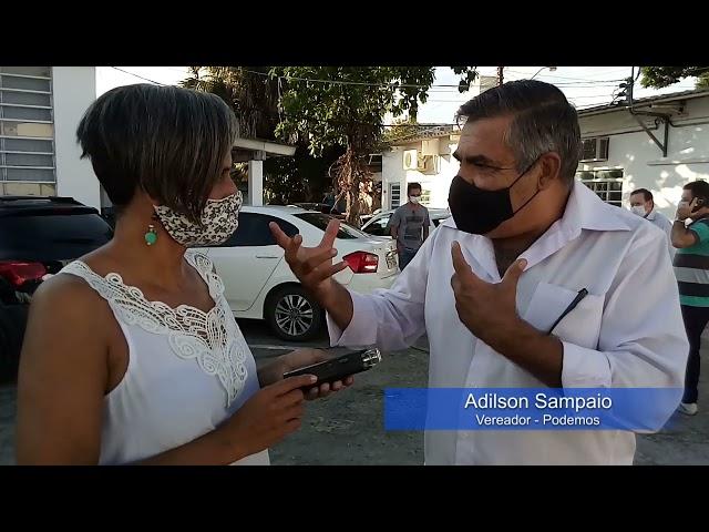 Vereador Adilson Sampaio