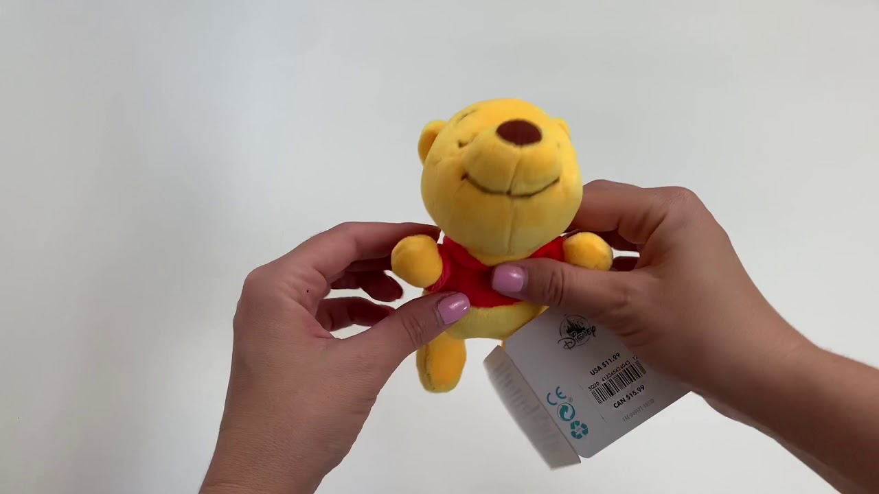 Мягкая Игрушка Винни Пух для малышей - YouTube