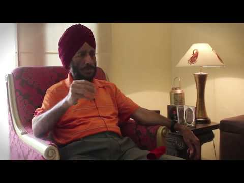 HOW MILKHASINGH BECAME FLYING SIKH II FROM HIS VOICE II INTERVIEW WITH MILKHA SINGH