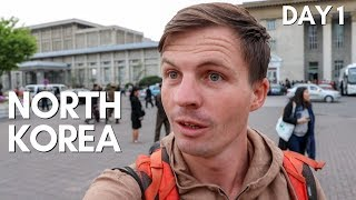 NORTH KOREA as a Tourist  - Pyongyang Day One