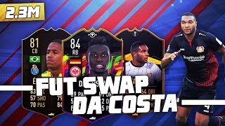 INCREDIBLE *FUT SWAP* DANNY DA COSTA SQUAD BUILDER W/ IF EDER MILITAO - #FIFA19 SQUAD BUILDER