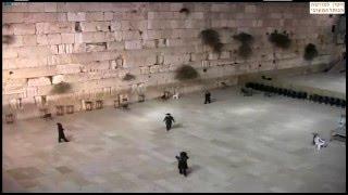 Guilty dancing the night away 3:30am Jerusalem Time dancing @ the western wall :)