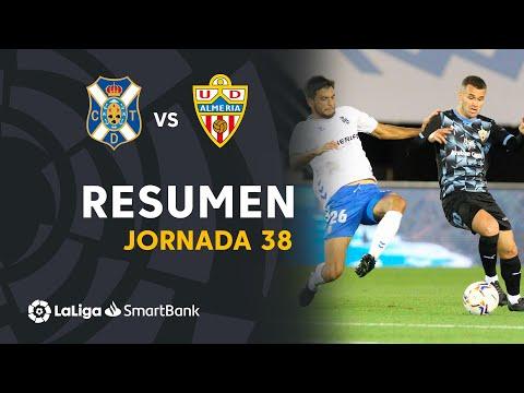 Tenerife Almeria Goals And Highlights