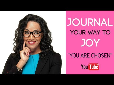 """Let's JOURNAL together! """"You are Chosen"""" with Alice Giraud of The 31 Woman"""