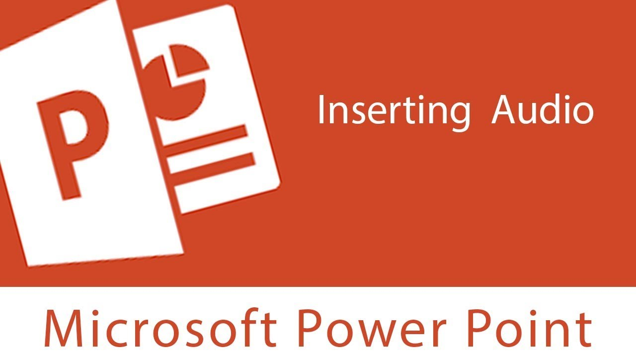 Powerpoint : Inserting Audio  Trim  Add And Remove Bookmark